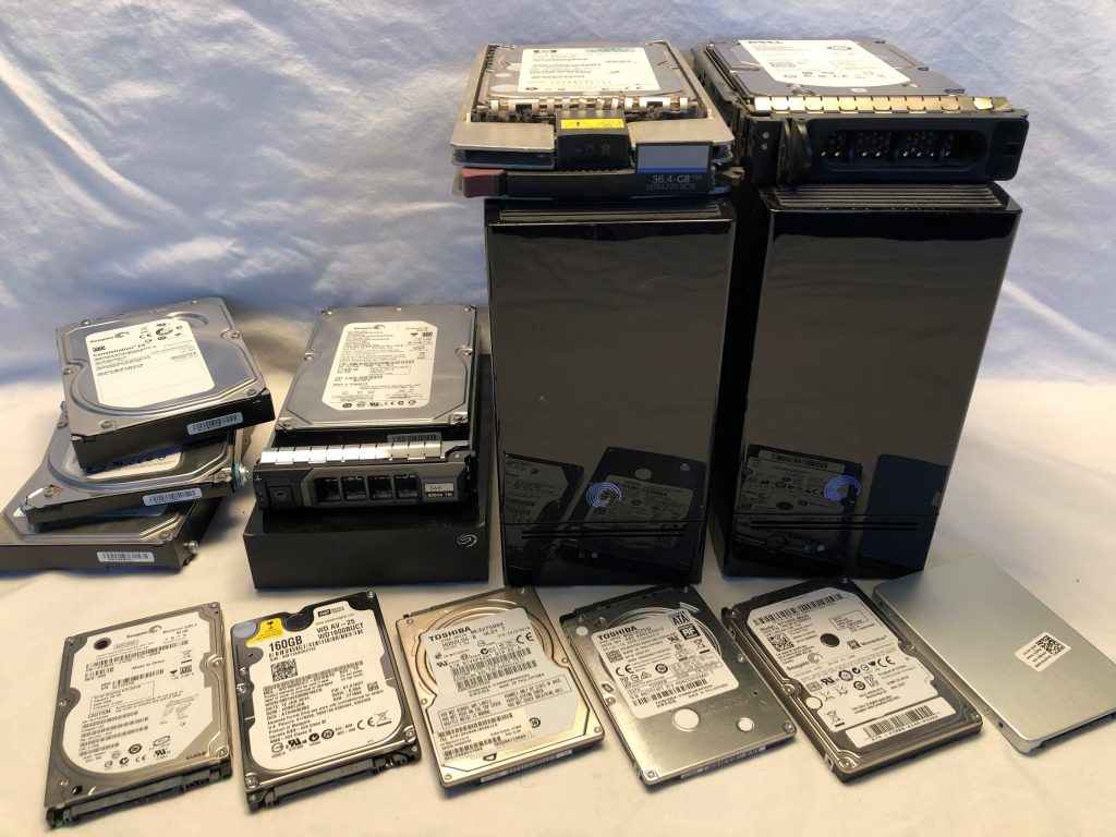Hard Drives we recover data from